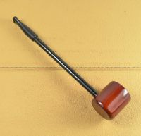 Red Wood Round Tobacco Smoking Pipe Popeye pipe FRDL04 | eBay