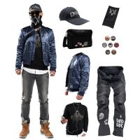 Watch Dogs 2 Marcus Holloway 's Jacket Coat Sweatshirt
