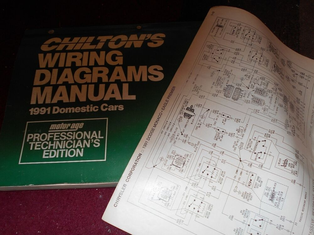 1991 DODGE SHADOW PLYMOUTH SUNDANCE WIRING DIAGRAMS SCHEMATICS