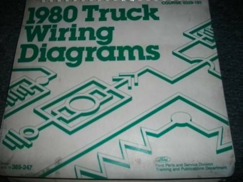 1980 FORD F600 F700 F800 COWL TRUCKS WIRING DIAGRAMS SHEETS SET eBay