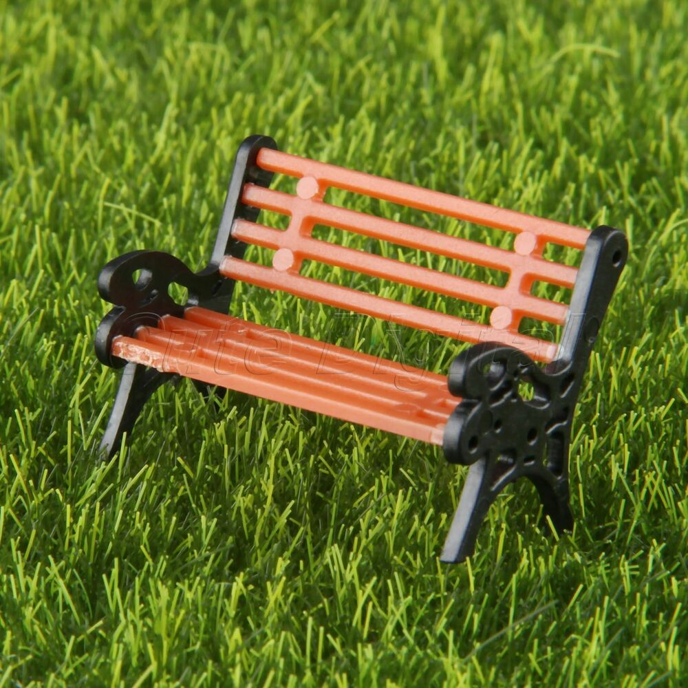 Garden Seats Benches 10x Model Benches Railway Park Bench Seated People Home Garden Seats Scale 1 75 607376709881 Ebay