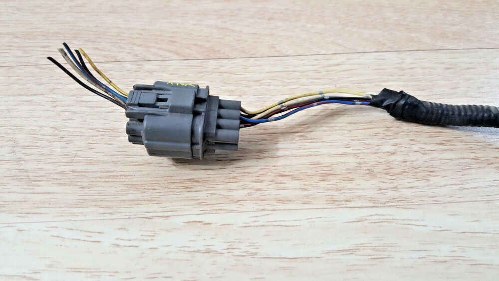 92-95 honda civic pigtail wire harness condenser motor fan ac male