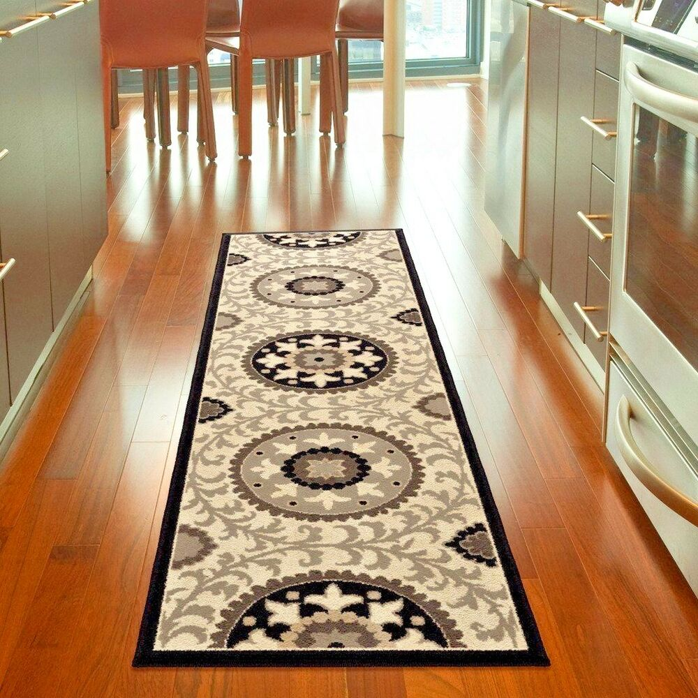 Kitchen Rugs Runner Rugs Carpet Runners Area Rug Runners Hallway Modern Floral Kitchen Rugs Ebay