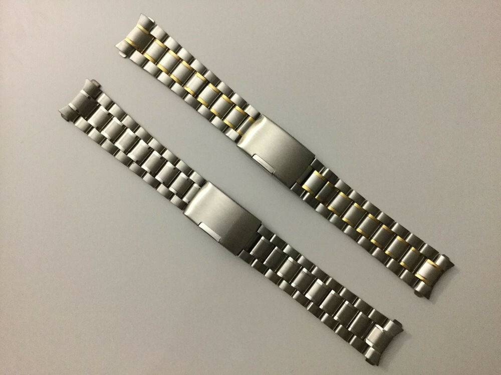 18mm Watch Band Stainless Steel Bracelet For Omega