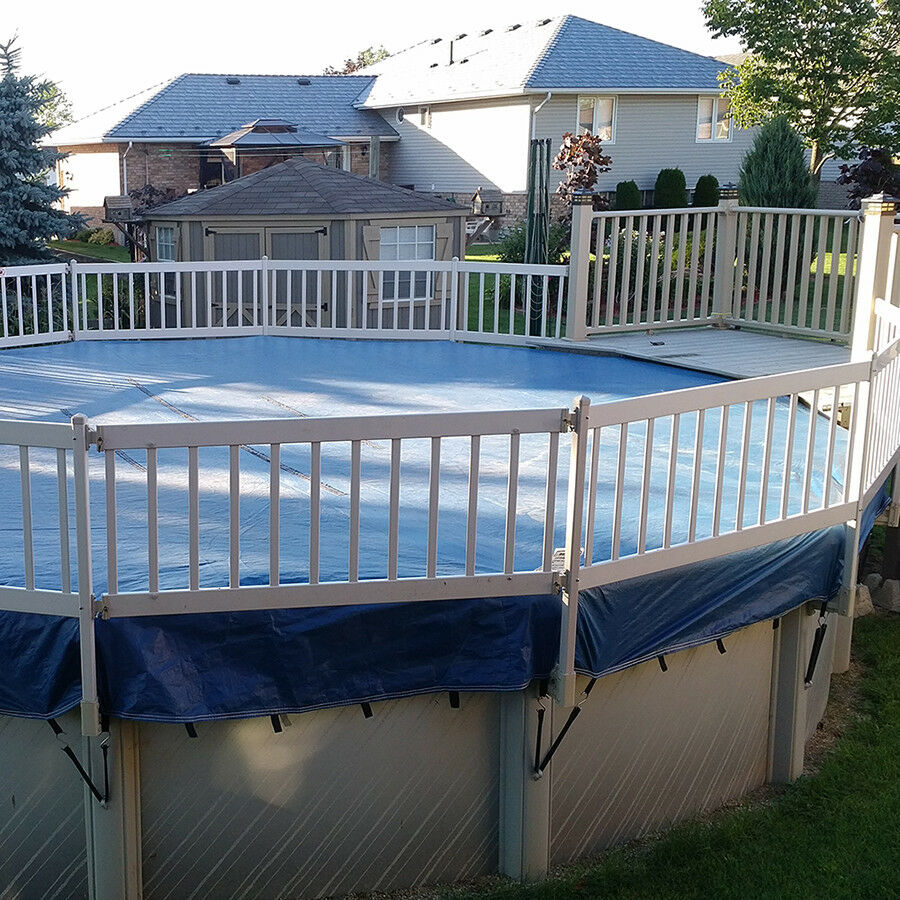 Above Ground Pool Winter Cover Eliminator Xtreme Above Ground Swimming Pool Winter Cover Choose Size Ebay