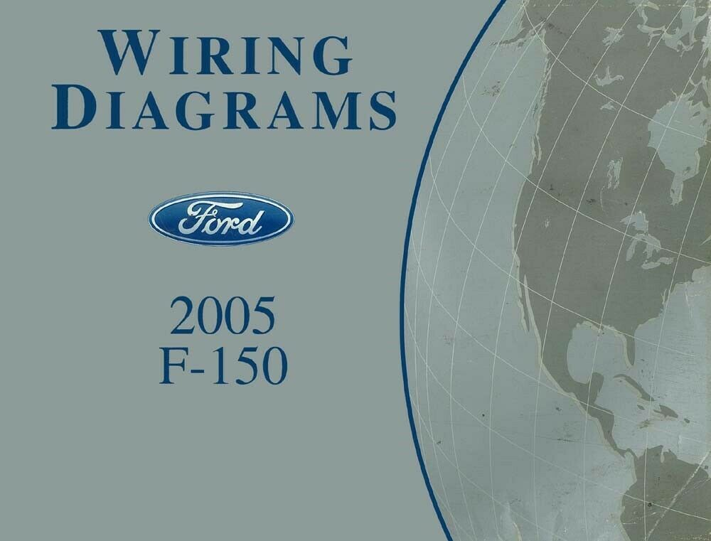 2005 Ford F-150 Truck Wiring Diagrams Schematics Drawings Color