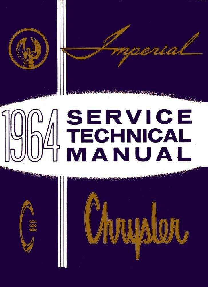 1964 Chrysler Imperial 300 New Yorker Shop Service Repair Manual
