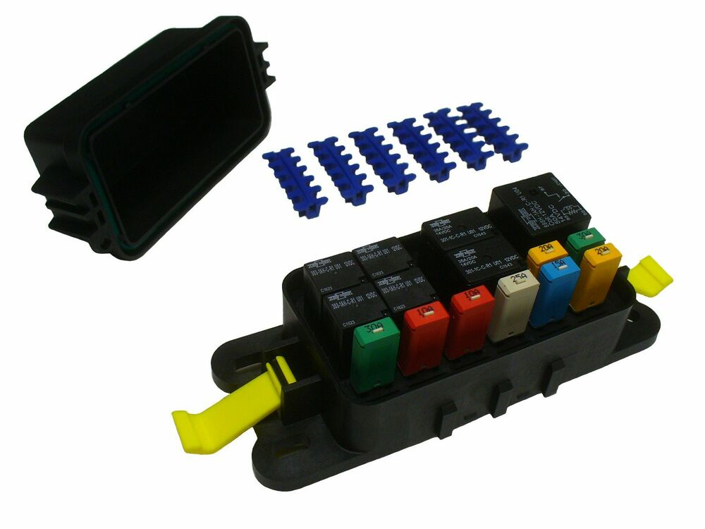 fuse holder bussmann distribution box