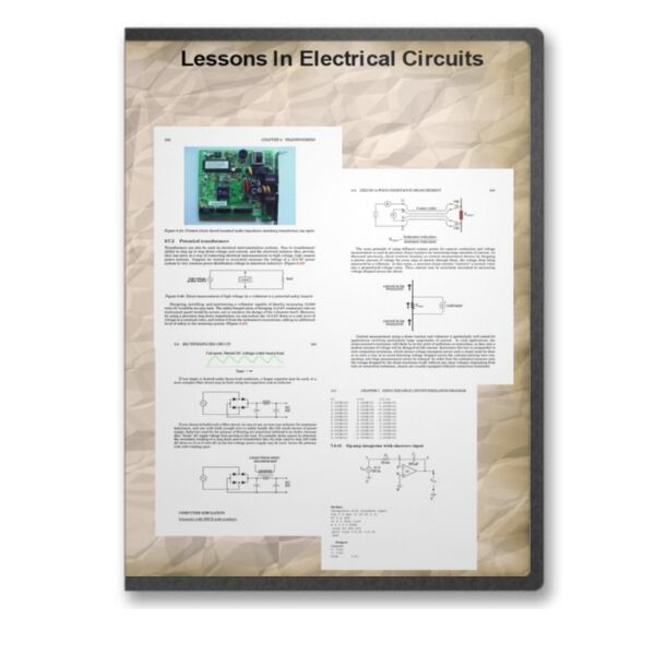 Lessons In Electrical Circuits 6 Vol 2500+ Pg Electronics Course +