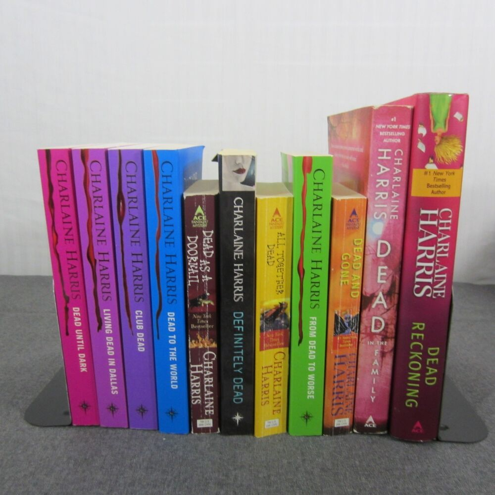 Charlaine Harris Libros Sookie Stackhouse By Charlaine Harris Series Books 1 11 True Blood Mixed Lot 9780441019335 Ebay