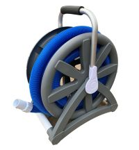 Swimming Pool Vac Hose Reel Holder with Handle | eBay