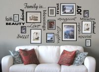 Vinyl lettering FAMILY IS sticky word quote wall art/decor ...