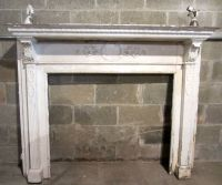 ~ NICE ANTIQUE VICTORIAN FIREPLACE MANTEL ~ ORNATE ...