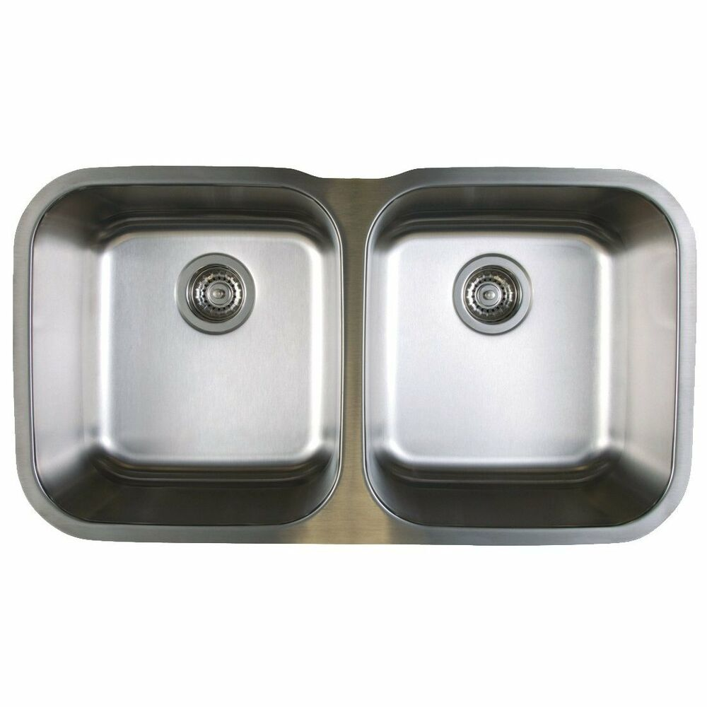 Blanco 441020 Stellar Stainless Steel 33 1 3quot Equal Double