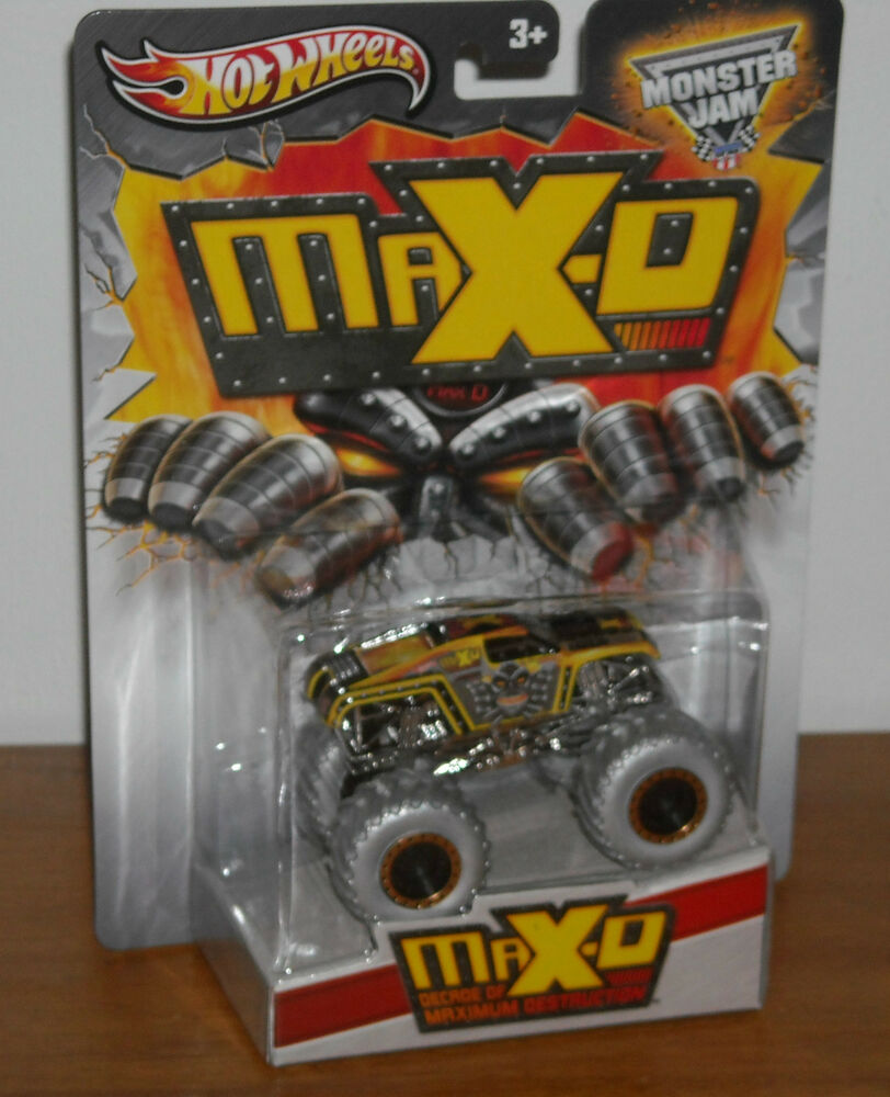 Toy Buggy Ebay New Hot Wheels Monster Jam Max D Decade Of Maximum