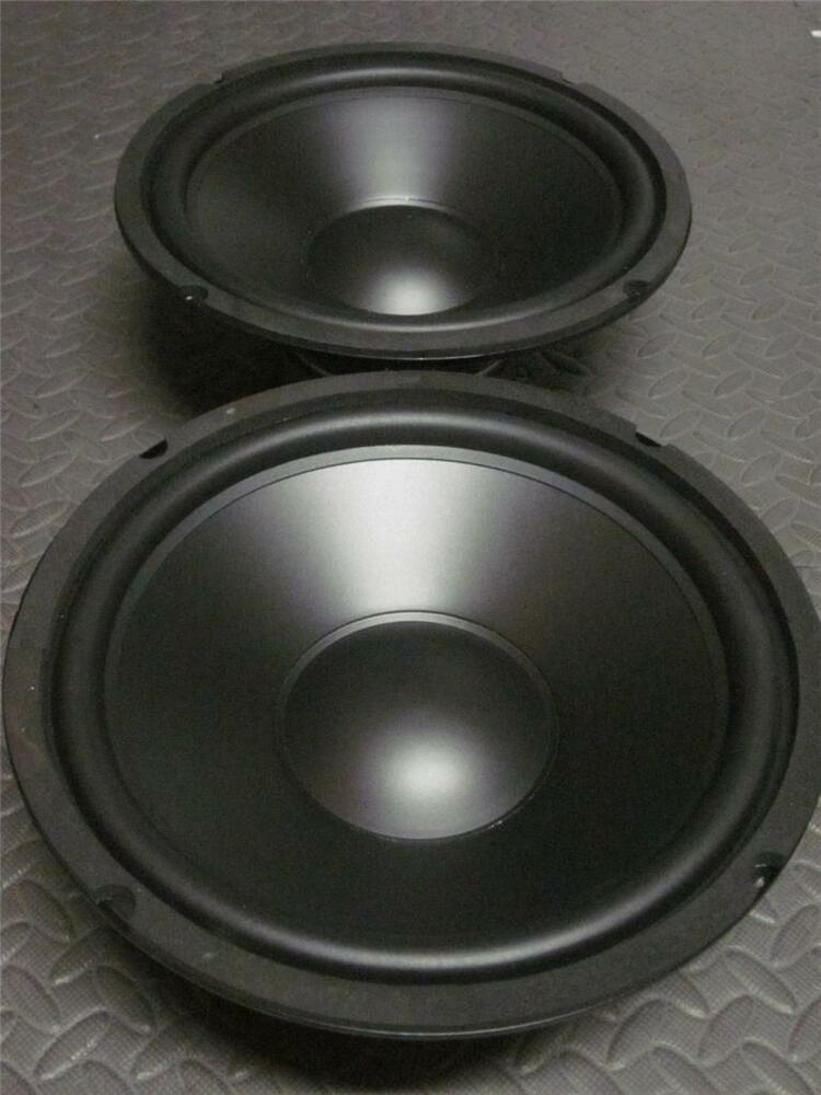 "Sub Speaker 8 Ohm (2) 10"" Speaker Woofers.ten Inch Subwoofer Replacement"