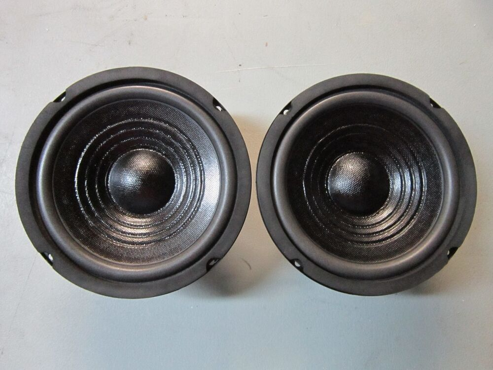 "Sub Speaker 8 Ohm New (2) 6.5"" Subwoofer Speaker Pair.8 Ohm.subs.6-1/2 Bass"