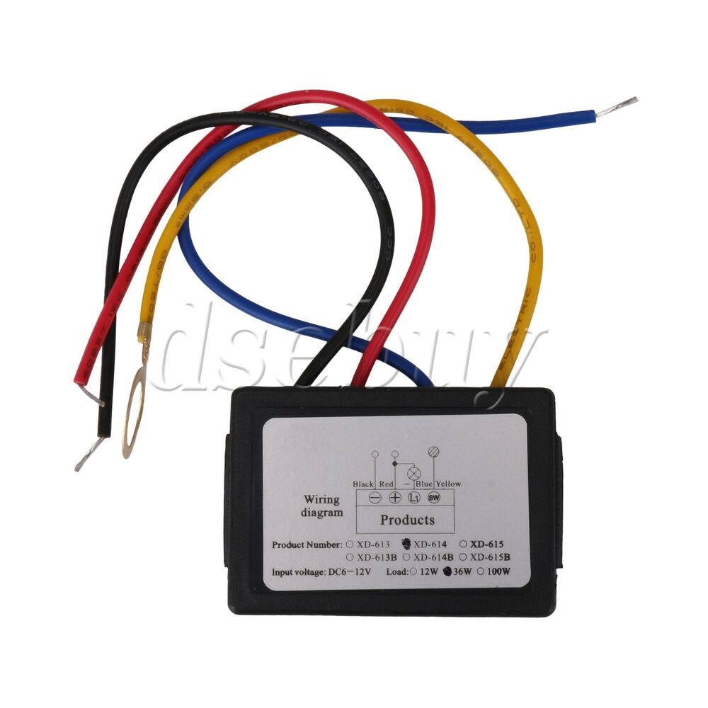 LED Touch Dimmer Switch Sensor Lamp Accesories Safety 6