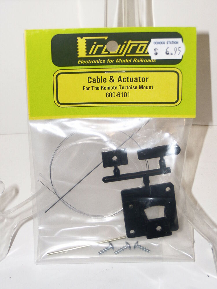 Circuitron #6101 Cable  Actuator for Remote Tortoise Mount NEW eBay