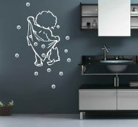 BATH Bathroom Bubble Removable DIY Wall Stickers Decal UK ...