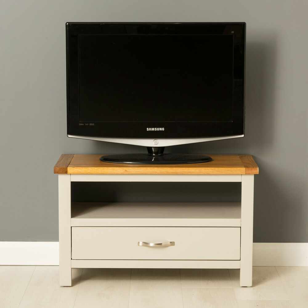 Mullion Painted Small Tv Stand Small Oak Tv Unit - Tv Sideboard