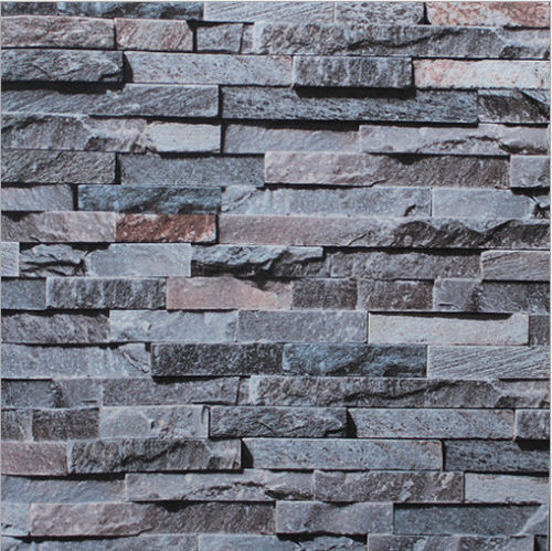 Fireplace 3d Wallpaper 3d Brick Stone Slate Rustic Age Look Rock Project