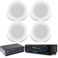 """In-Ceiling 8"""" 150W Speakers, USB Bluetooth Pyle Home ..."""