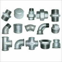 GALVANISED MALLEABLE IRON PIPE FITTINGS CONNECTORS JOINTS ...