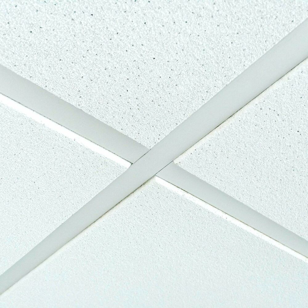 Suspended Ceiling Tiles Sandtone Texture 600x600mm Tegular