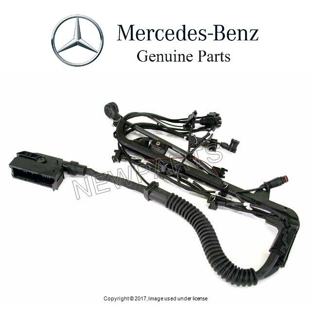 genuine mercedes benz 1245433533 engine wiring harness