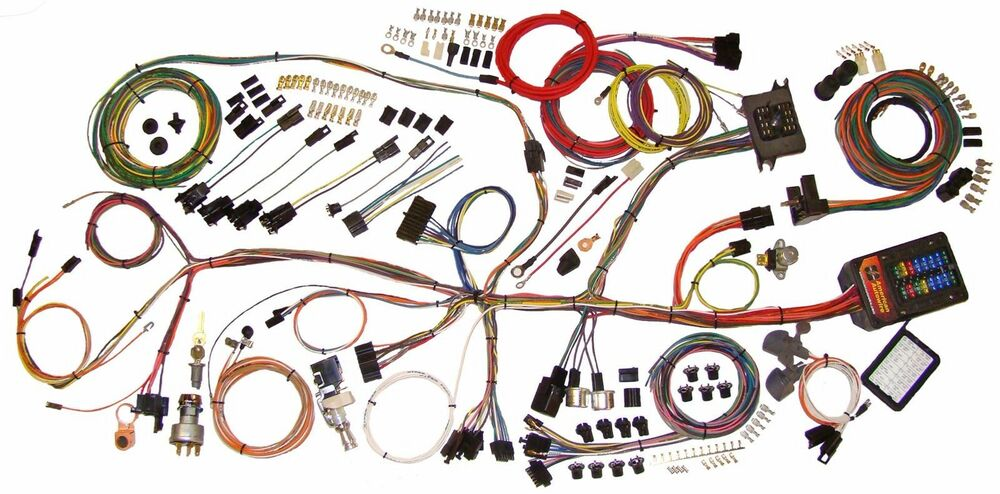 62-67 Nova Chevy II American Autowire Classic Update Wiring Harness