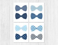 Bow Tie Baby Shower Party Cutouts Decorations Printable | eBay