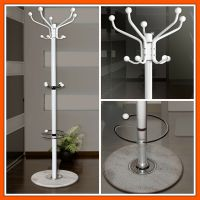 Vintage Hat Coat Stand Free Standing Metal Rack Holder ...