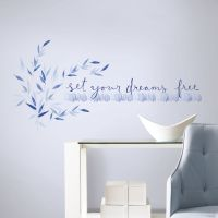 SET YOUR DREAMS FREE WALL DECALS Kathy Davis Inspirational ...