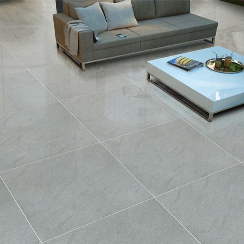 Grey Square Gloss Polished Porcelain Wall Floor Tiles