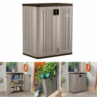 Small Outdoor Storage Cabinets Suncast Lawn Yard Patio ...