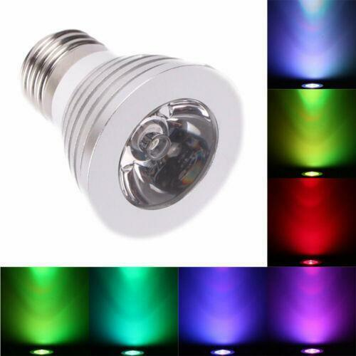 Led Stage Lighting Ebay E27 16 Color Magic Changing 5 Model 3w Rgb Led Light Bulb