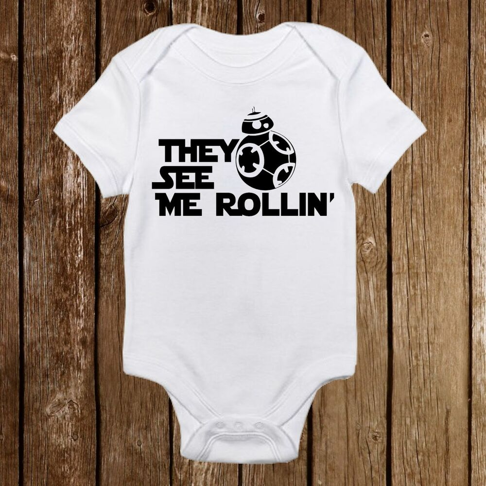 Baby Newborn Unisex Clothes They See Me Rollin 39; Star Wars Bb 8 Droid Baby Clothes Girl