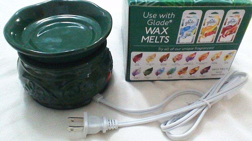 Dimmer 1000 Watt Glade Electric Wax Melt Tart Warmer Limited Winter