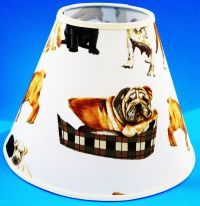 Dog on White Handmade Lampshade Dogs Lamp Shade | eBay