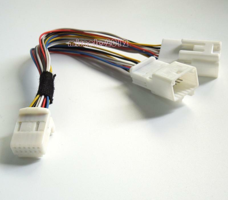 CD Changer Navigation Y Cable wire harness For Toyota Scion Lexus