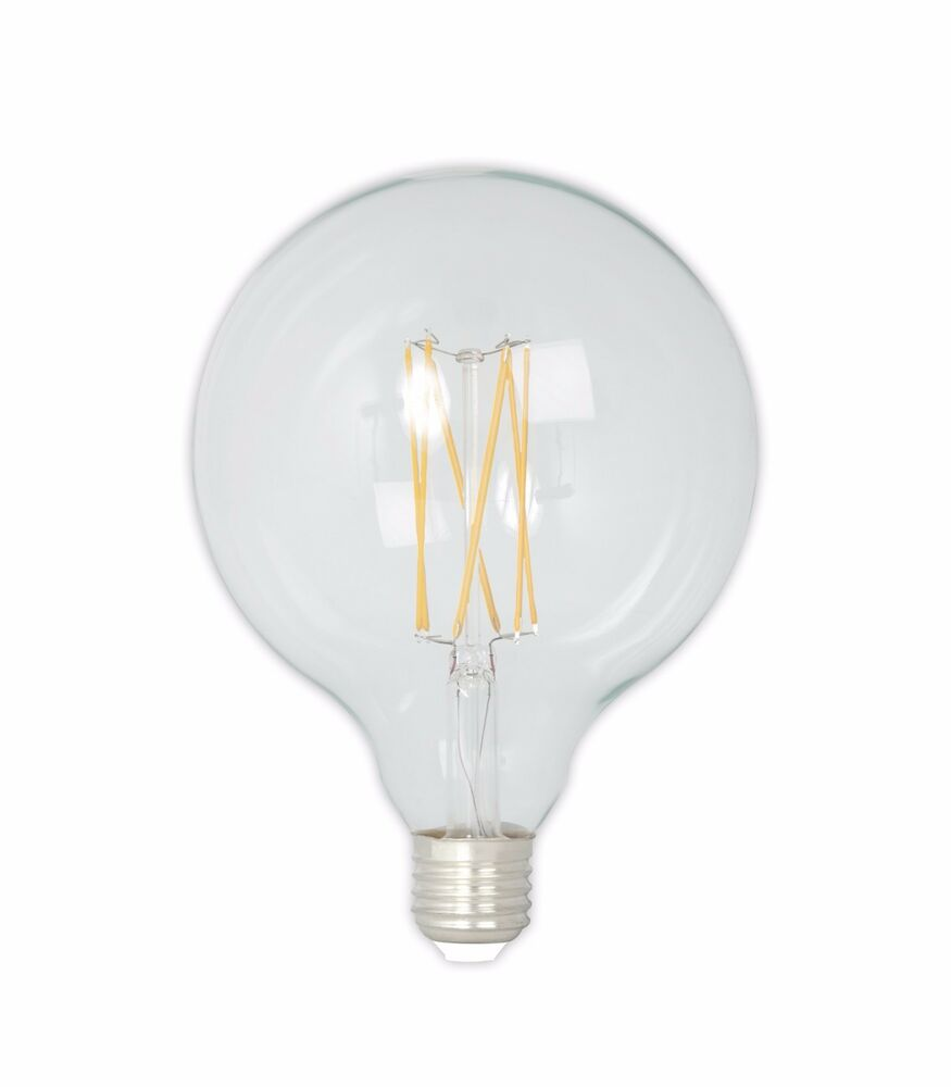 Calex Goldline Calex Led Clear Glass Longfilament Globe Lamp 4w 350lm E27 Glb125 2300k Dimmable 8712879135746 Ebay
