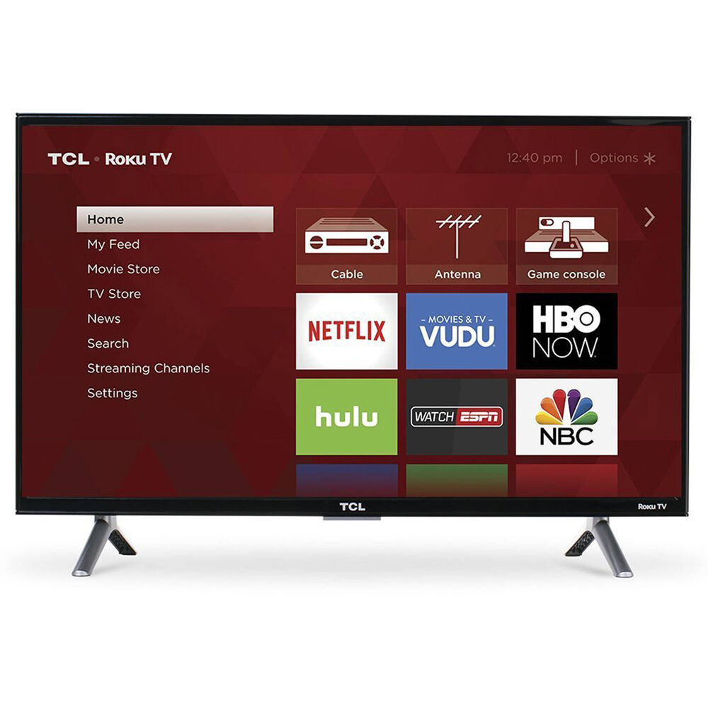 43 Inch Tv Tcl 43 Inch 4k Ultra Hd 120hz Roku Smart Led Tv With Usb 3 X Hdmi 43s405 846042007627 Ebay