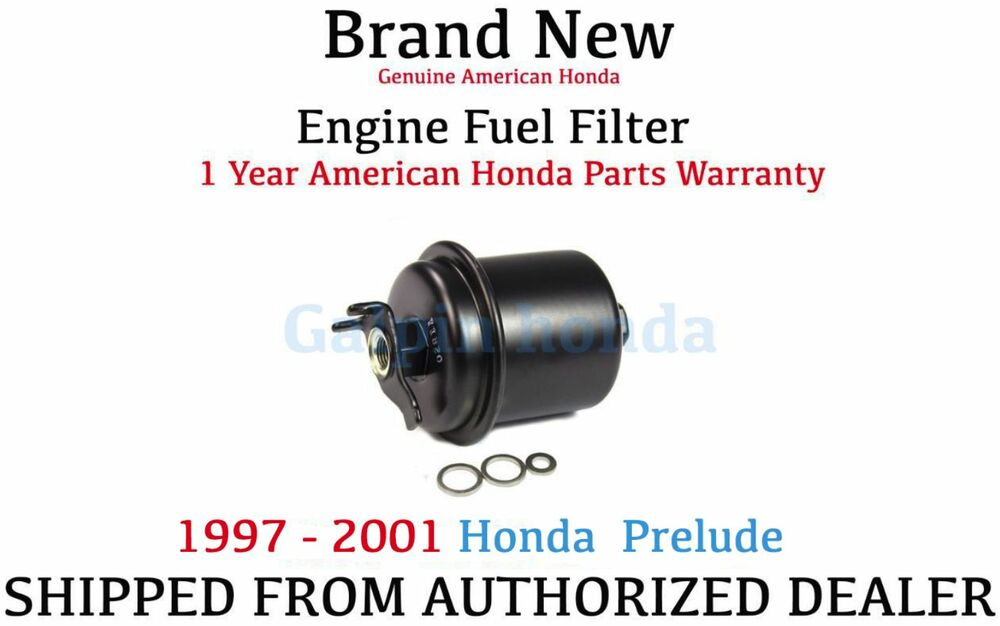 Genuine OEM Honda Prelude Fuel Filter 1997-2001 (16010-ST5-E02) eBay