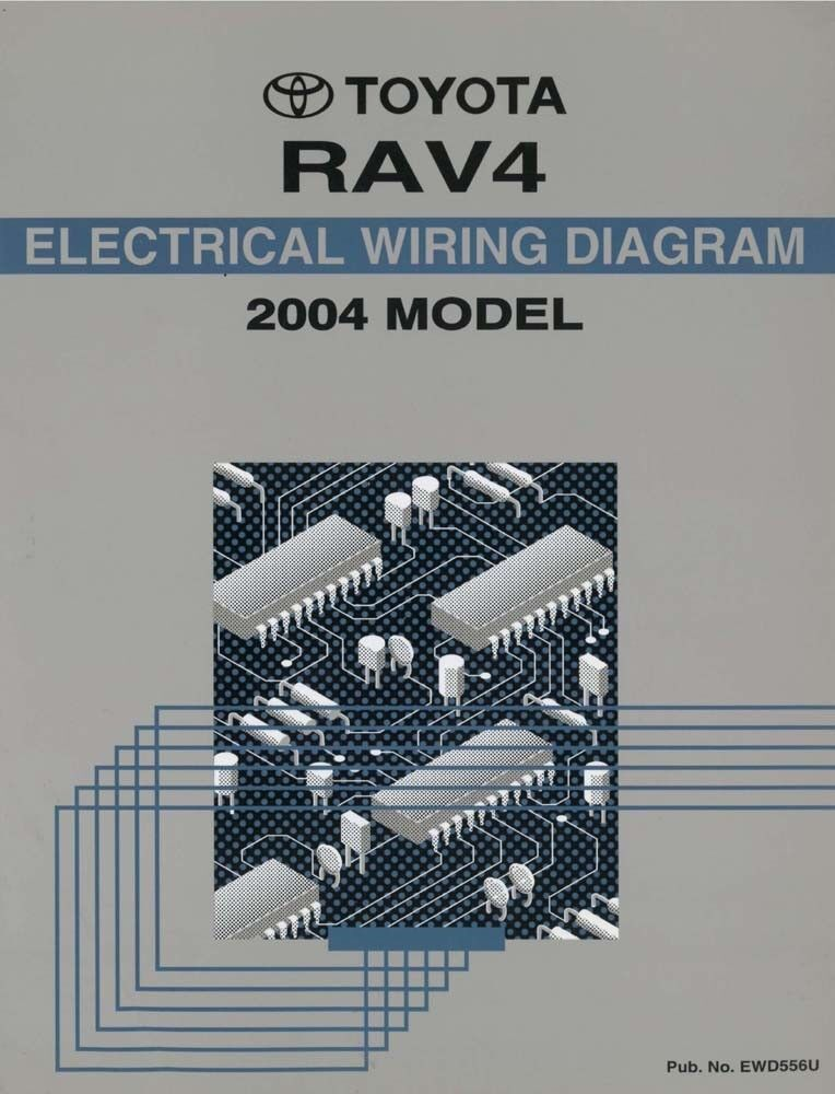 2004 Toyota RAV4 Wiring Diagrams Schematics Layout Factory OEM eBay
