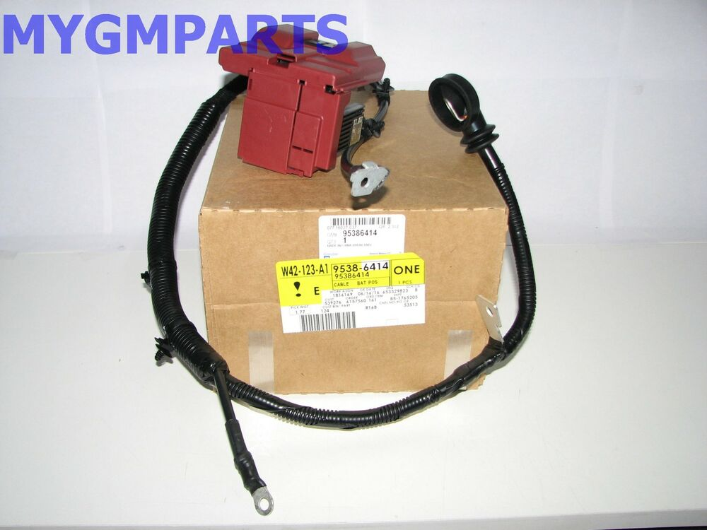 SONIC 18 16 POSITIVE BATTERY CABLE 2012-2017 NEW OEM 95386414 eBay