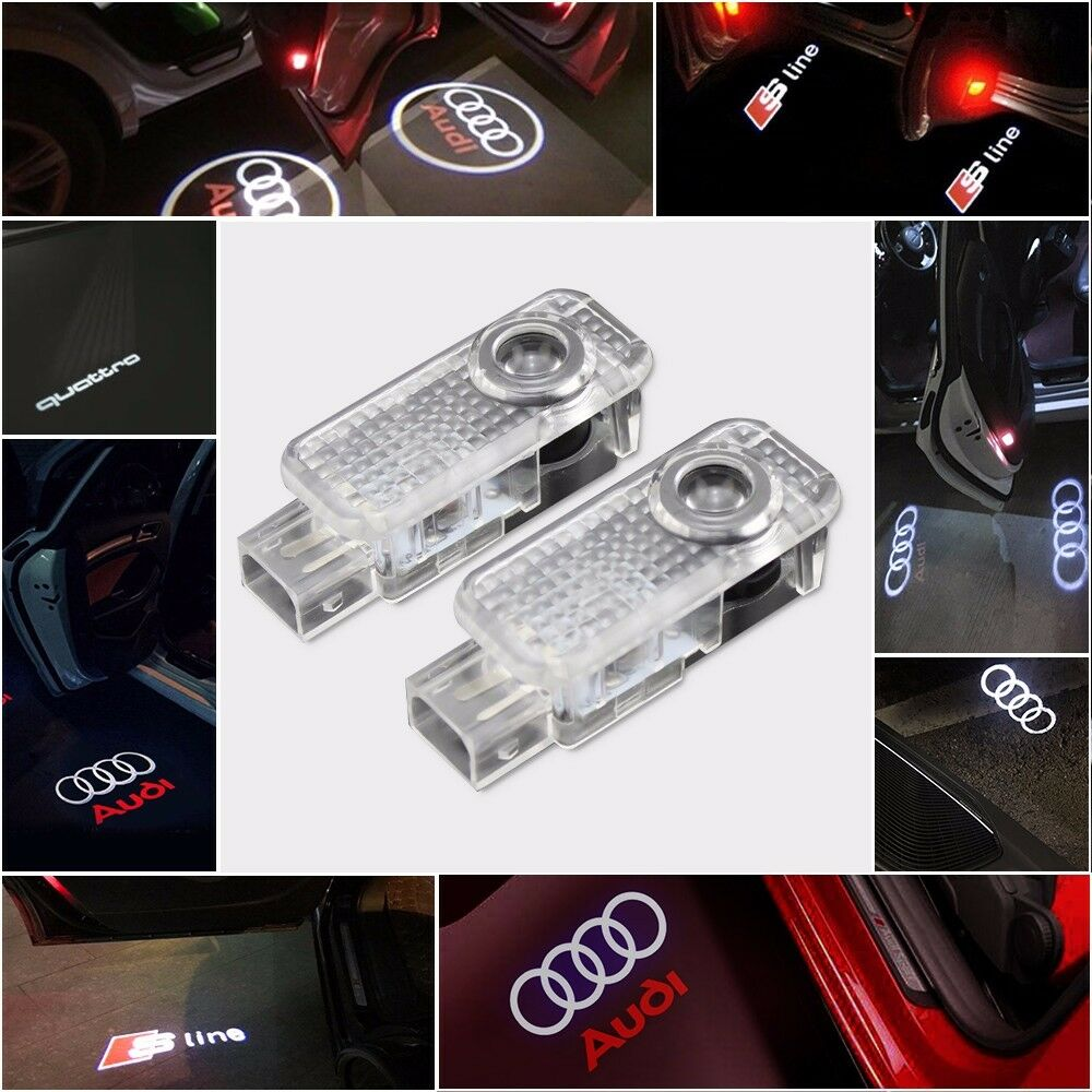 Led Verlichting Audi Logo Audi Rsq3 Logo Led Puddle Projector Ghost Door Lights For Rsq3 Q3