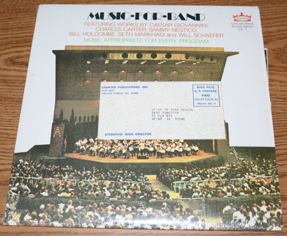 Vol Charter Concert Music For Band Sound Vol 7 Charter Publications 1974 Lp Beatles Ebay