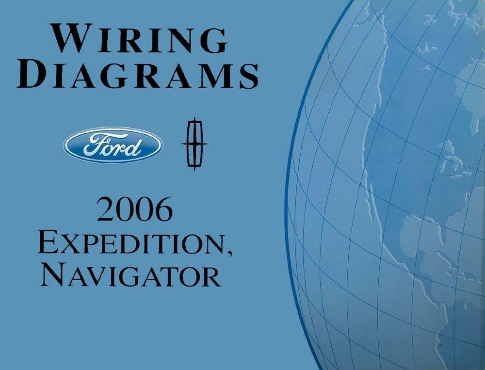 2006 Ford Expedition Lincoln Navigator Wiring Diagrams Schematics