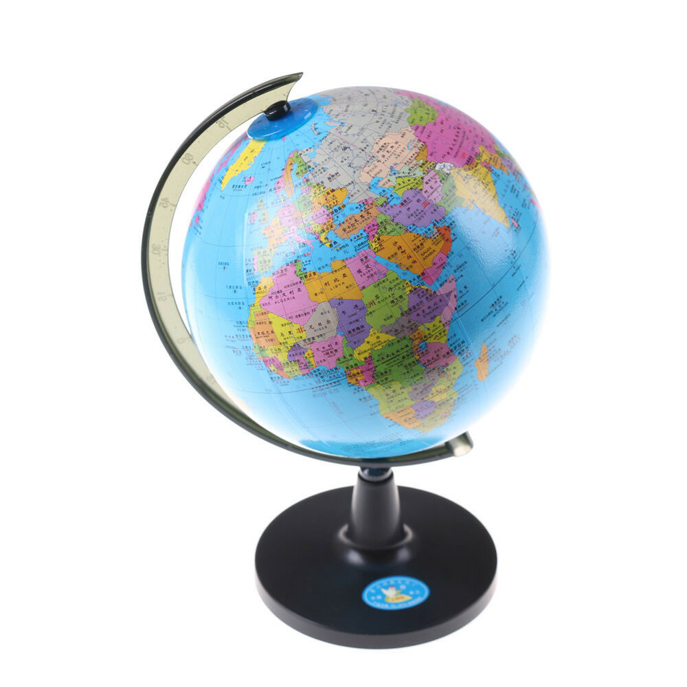 Chinese Geography 14cm Chinese English World Globe Country Region Map Geography Learning Toy A Ebay